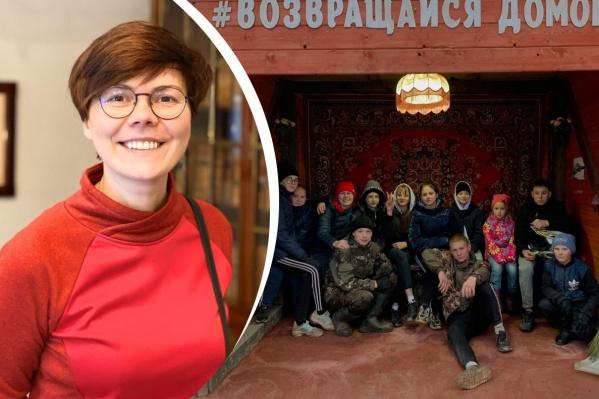 Рассказываем, как Галина Никулина организовала местных подростков на преображение заброшенной остановки