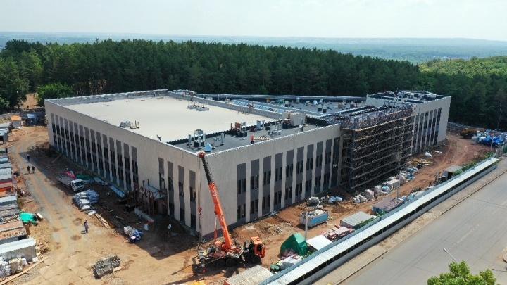 Центр гимнастики в Уфе за 786 миллионов рублей достроят до конца года