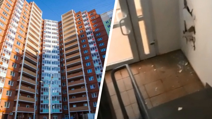 Заплатят родители: школьники разгромили подъезд дома в Покровке