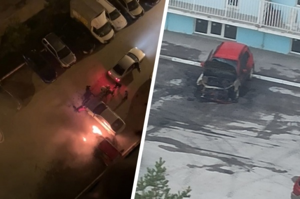 Инцидент произошел сегодня утром в Октябрьском районе