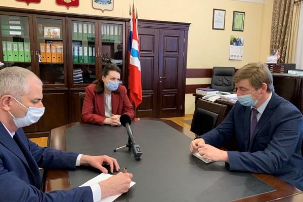 Алексей Потапов и его начальство
