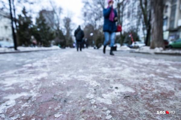 К гололеду и мокрому снегу добавится сильный ветер