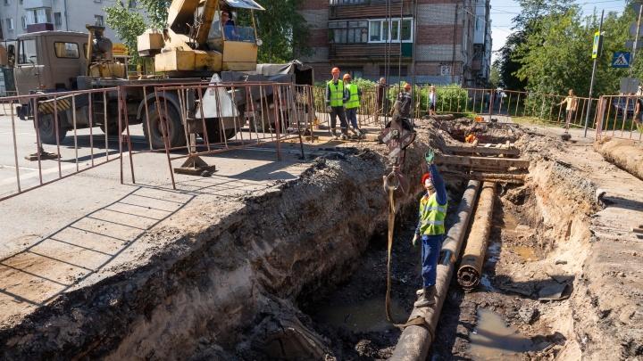 «Работы выполняются в срок»: проезд на Троицком проспекте рядом с «Водником» откроют в это воскресенье
