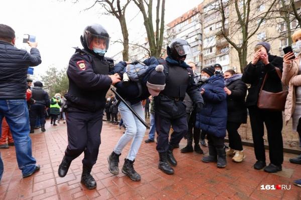 Горожане вышли на не согласованную с властями акцию