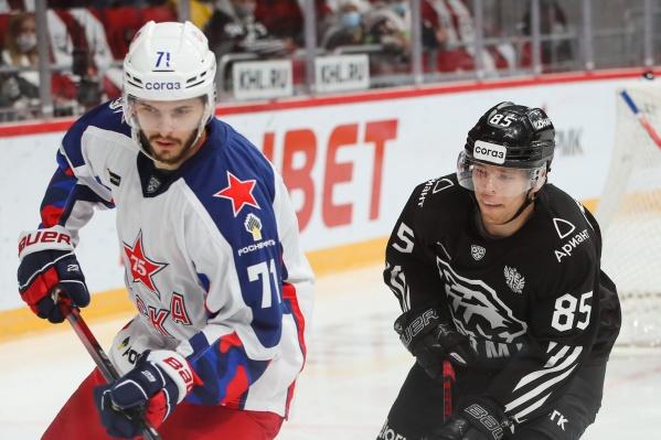В домашней игре против ЦСКА черно-белые проявили небывалую активность