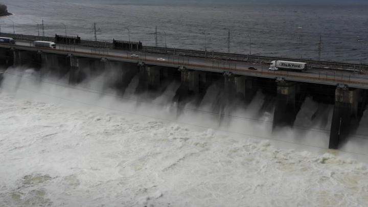 Период сброса воды с Жигулевской ГЭС решили продлить