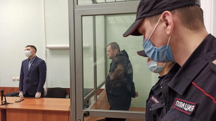 Виктора Пильганова приговорили к восьми годам колонии