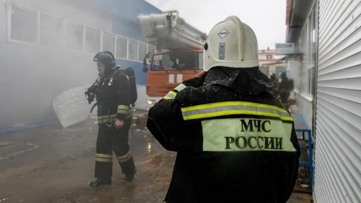 В Волгограде похоронили погибшую при пожаре на Качинском рынке. Расследование передано полиции