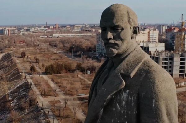 Волгоградец показал, как в город приходит весна