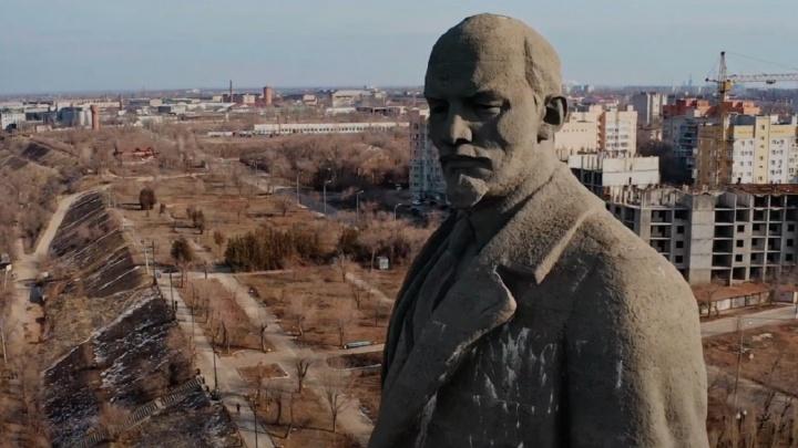 Ностальгия по детству: волгоградец показал Волгу и набережную Красноармейского района глазами Ленина