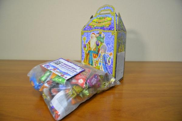 Один сладкий подарок обойдется примерно в 385 рублей