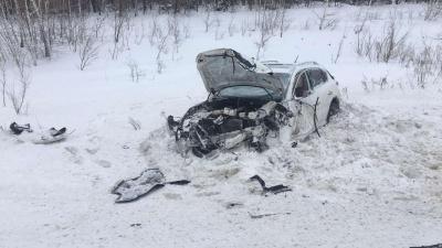 В Самарской области в аварии пострадали 6 человек
