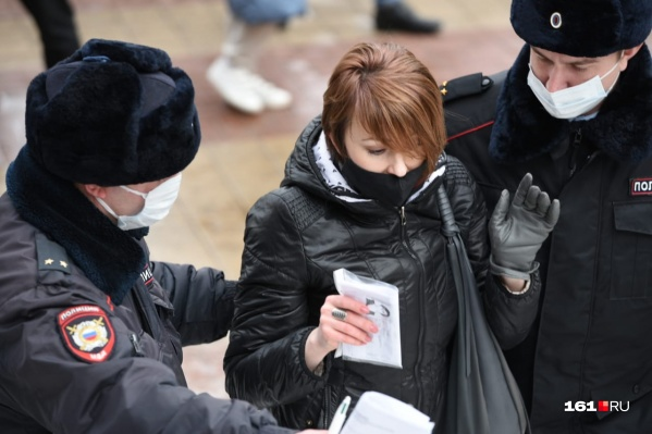 Сторонников Алексея Навального начали задерживать в первые минуты акции