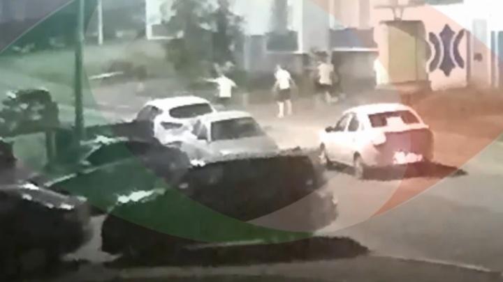 Пермские вахтовики устроили в Татарстане драку со стрельбой. Видео
