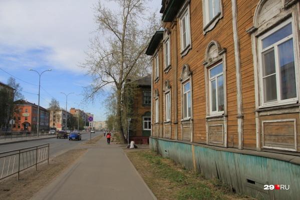 Одна из улиц, которая радикально изменилась за последние 10 лет, — Выучейского