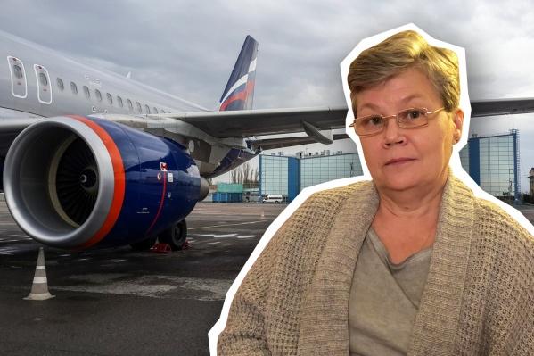 Ольгу Кнельц не пустили в самолет до Москвы с действительным ПЦР-тестом