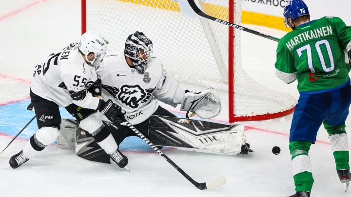 «Салават Юлаев» начал плей-офф с домашнего поражения