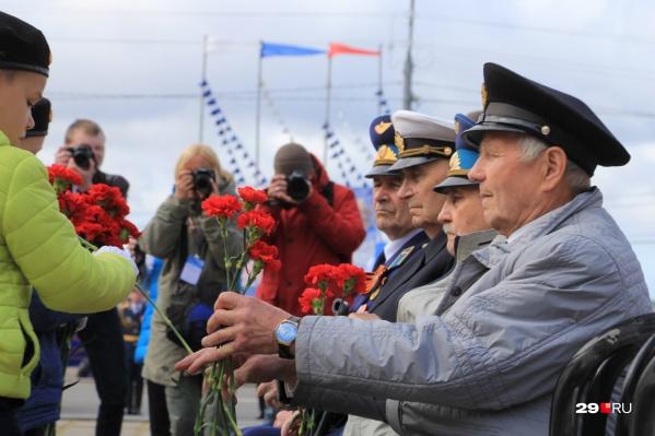 На сегодняшний день в Поморье проживают около 270 ветеранов Великой Отечественной войны