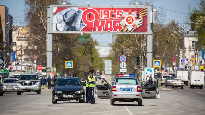 Центральные улицы Новосибирска перекроют из-за репетиции парада— карта с временем и датой