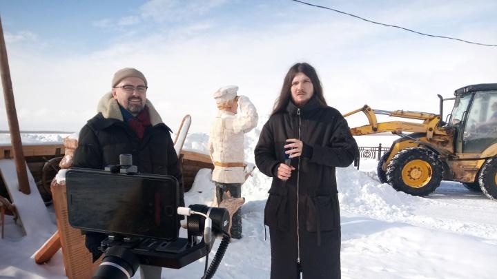 Стрим 29.RU: гуляем по Архангельску с бывшим мэром в прямом эфире