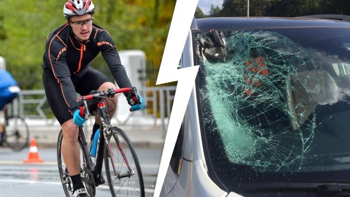 «У нас скорость — 40, а то и 70 км/ч». Триатлонист назвал три причины, по которым они погибают на дорогах