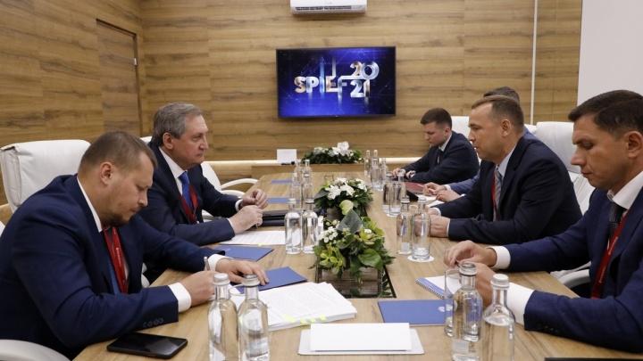 Губернатор Шумков обсуждает снижение энерготарифов