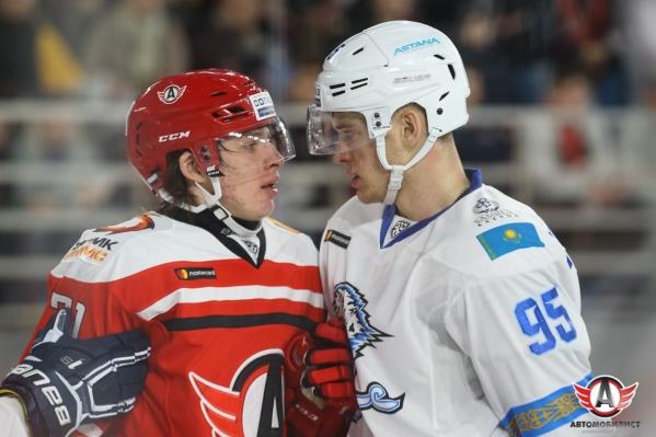 Дмитрий Шевченко (справа) знает, как внушить ужас сопернику