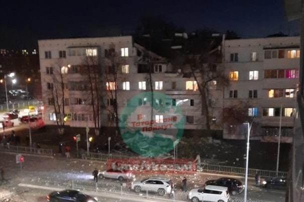 В Татарстане прогремел взрыв в жилом доме: разрушены два этажа