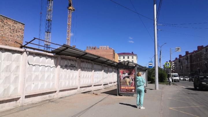 Остановку «Хлебозавод» перенесут по просьбе застройщика элитного жилого комплекса