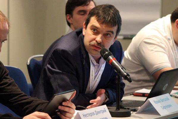 Председатель пермского отделения движения «Голос» Виталий Ковин
