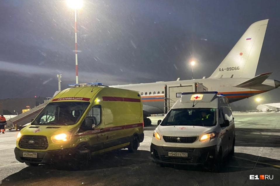 В МЧС согласились сдать в аренду борт, оборудованный для перевозки больных