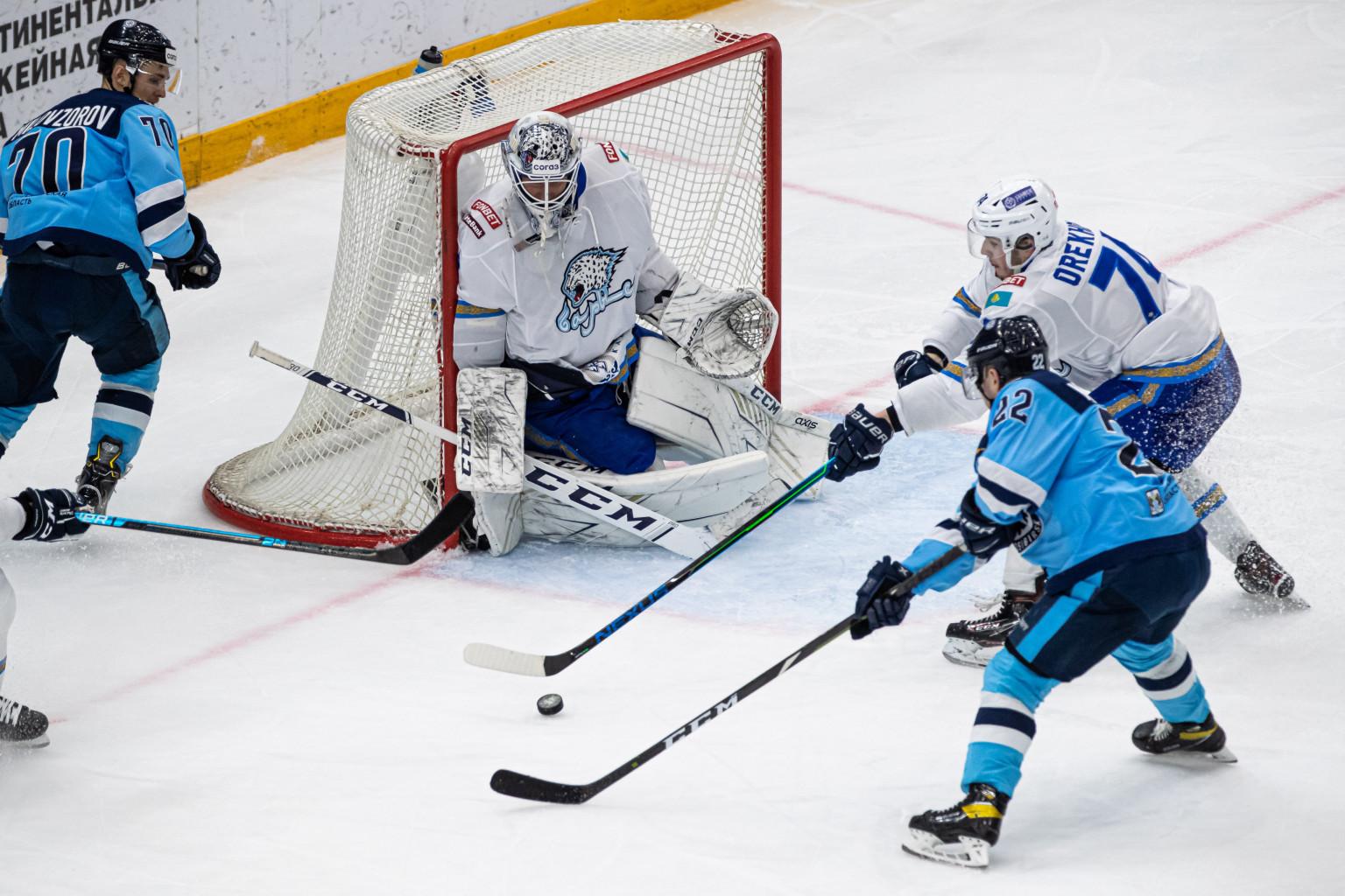 Таким образом, ХК «Сибирь» лишился шанса на выход в плей-офф
