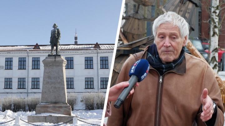 «Ратую за Робинзона Крузо»: какие памятники нужны Архангельску — мнение Юрия Барашкова