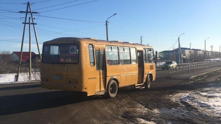 В селе под Тюменью пьяный школьный водитель перевозил детей
