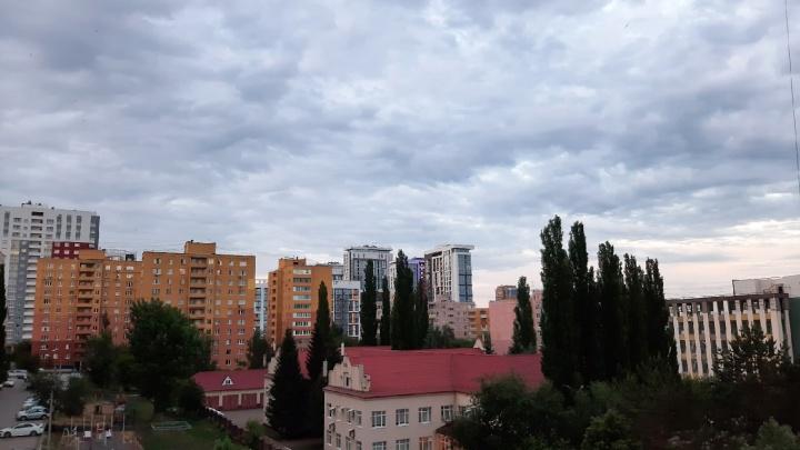 На Башкирию обрушатся град и штормовой ветер