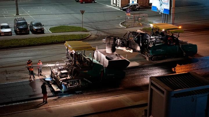 День города совпал с началом ремонта дорог в центре Омска
