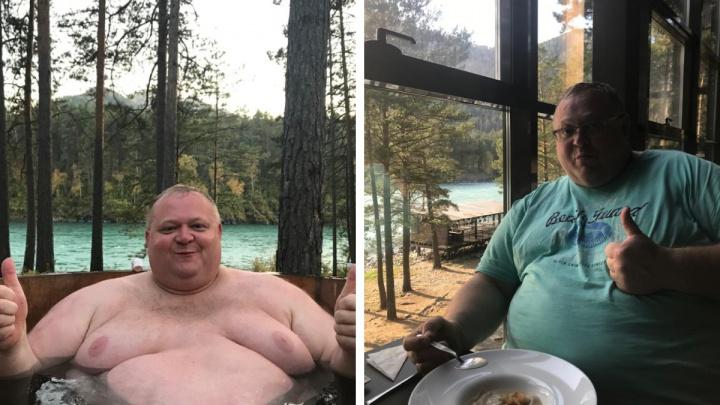 «Лишний вес копился незаметно»: новосибирец поправился до 250кг, а потом начал худеть. Фото до и после
