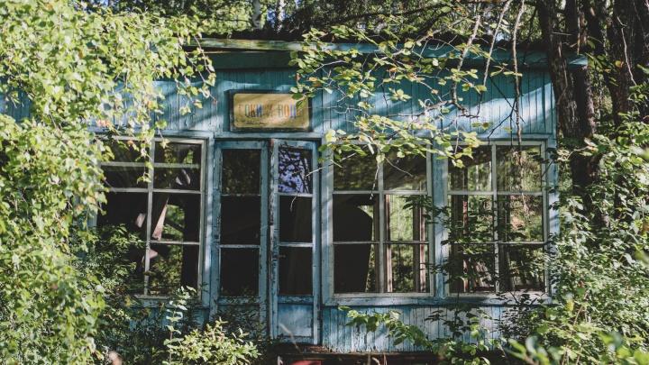 О чем молчит «Берёзка»: смотрим, что осталось от советской базы отдыха под Уфой