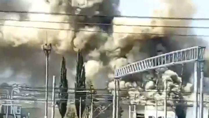 На мясокомбинате в Башкирии произошел пожар