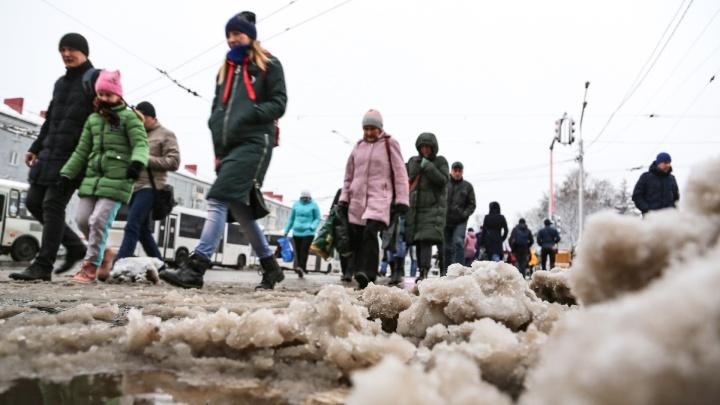 Мэрия Уфы хочет, чтобы горожане вышли на улицы и почистили грязь своими силами