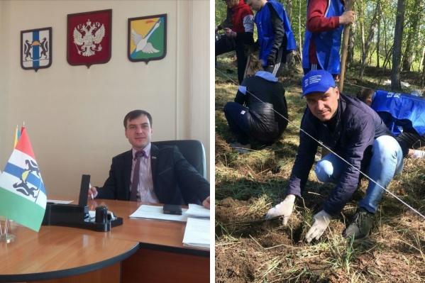 С осени 2020 года Максим Захаров занимал должность помощника депутата Заксобрания НСО