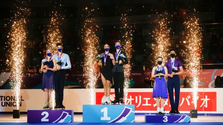 В Красноярске российские фигуристы завоевали 10 медалей