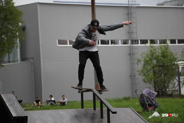 Новую скейт-площадку установят по просьбам жителей Сургута