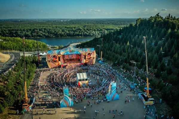 Недавно в Уфе прошла всемирная Фольклориада с участием нескольких тысяч человек