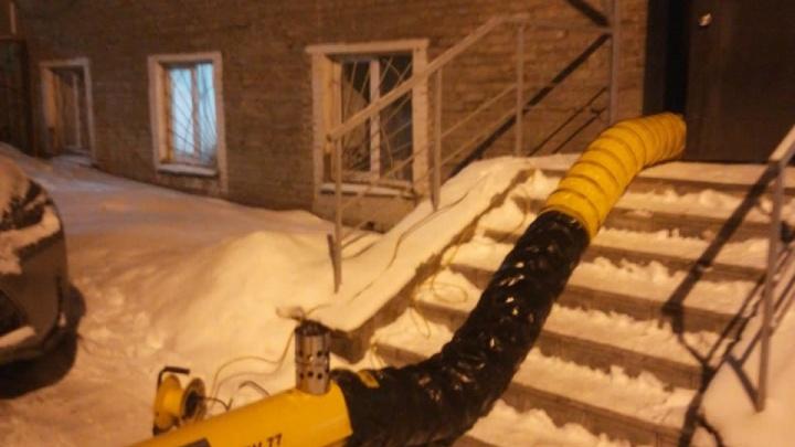 В центре Уфы два жилых дома остались без отопления