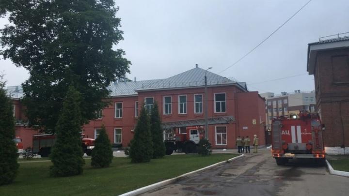 Три человека погибли при пожаре в реанимации больницы в Рязани