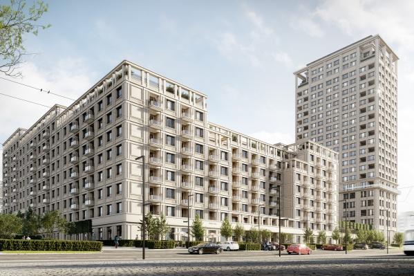 «Брусника» построит дом-квартал и башню с видом на реку на улице Зыряновской