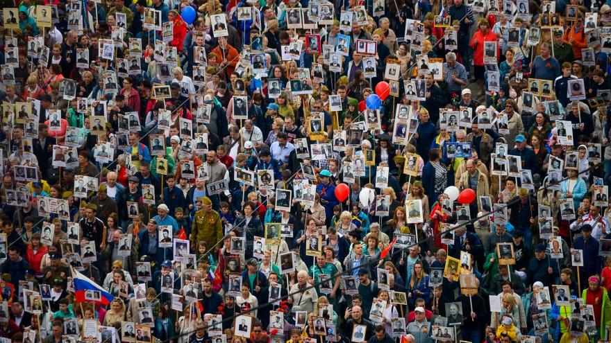 В России отменили шествие «Бессмертного полка»