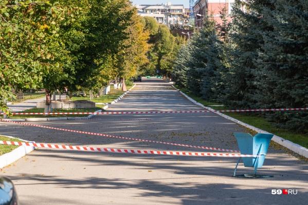 После трагедии доступ в кампус закрыли