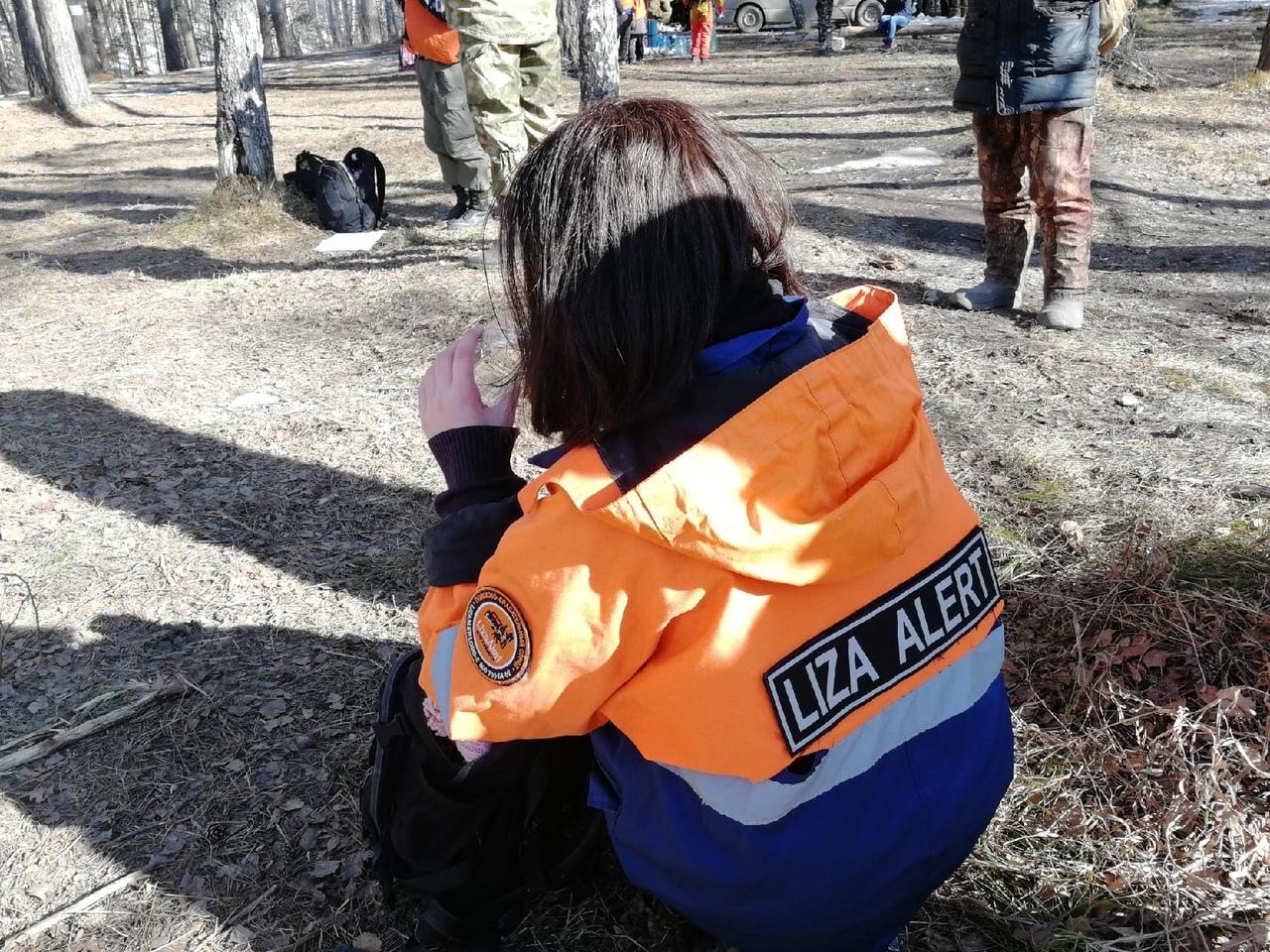 Лиза свою работу на поисках сравнивает с солдатским трудом